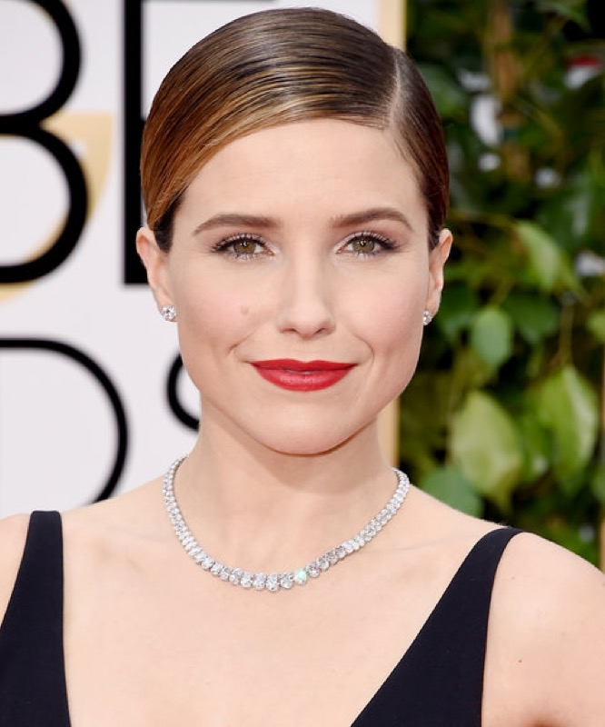 ClioMakeUp-rossetto-star-golden-globes-2016-sophia-bush