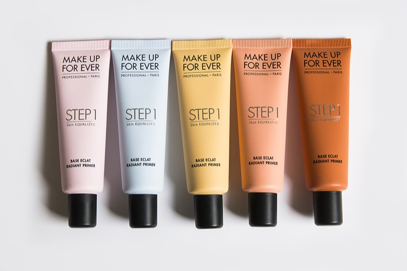 ClioMakeUp-colorito-spento-incarnato-luminoso-pelle-rimedi-autoabbronzante-make-up-for-ever-primer-step-1