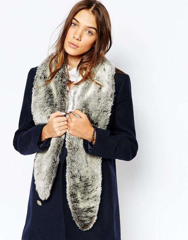 ClioMakeUp-moda-cappotto-maglione-guanti-cappa-caldo-inverno-2016-saldi-asos-sciarpa-pelliccia-ecologica