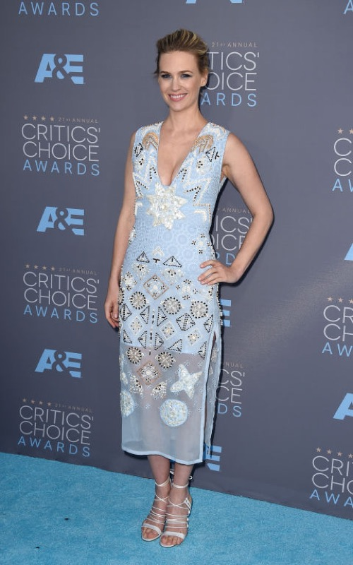 ClioMakeUp-Critics-Choice-Awards-look-beauty-trucco-make-up-vestito-January-jones-altuzarra