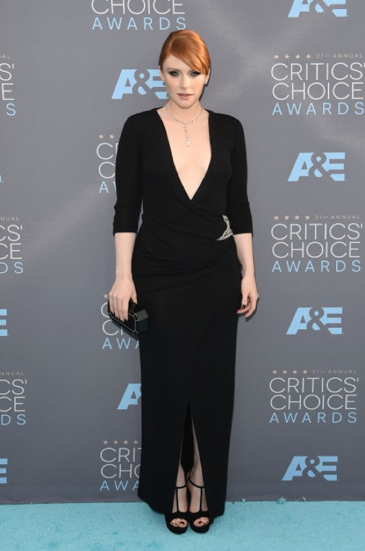 ClioMakeUp-Critics-Choice-Awards-look-beauty-trucco-make-up-vestito-bryce-dallas-howard-balmain
