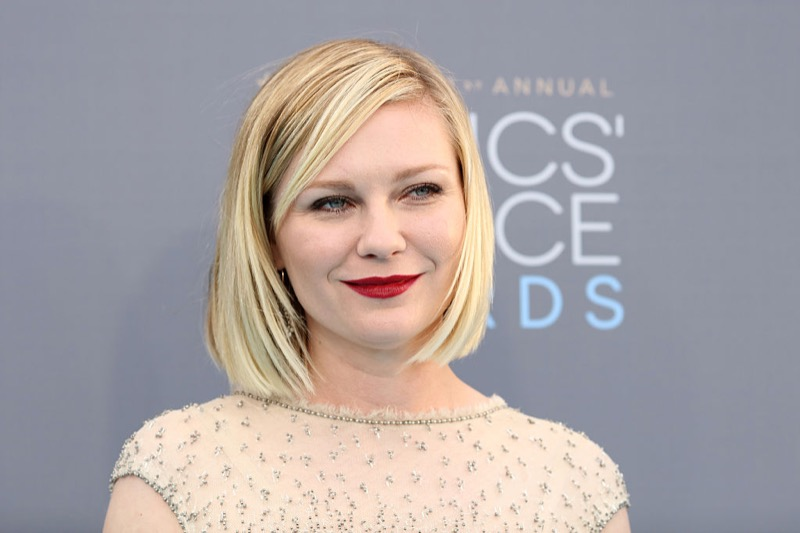 ClioMakeUp-Critics-Choice-Awards-look-beauty-trucco-make-up-vestito-kirsten-dunst