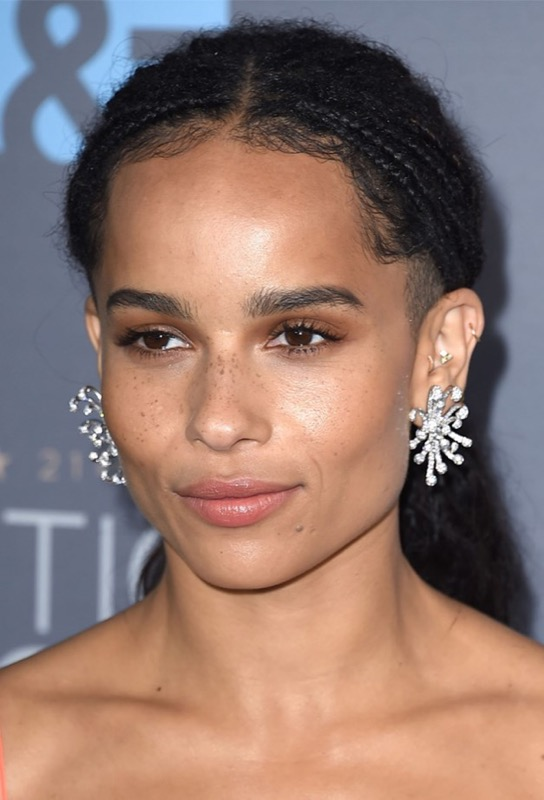 ClioMakeUp-Critics-Choice-Awards-look-beauty-trucco-make-up-vestito-zoe-kravitz-1