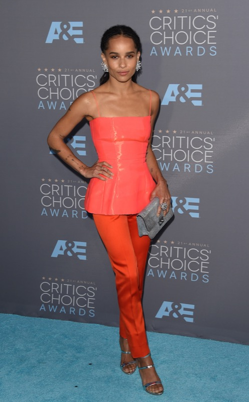 ClioMakeUp-Critics-Choice-Awards-look-beauty-trucco-make-up-vestito-zoe-kravitz-dior