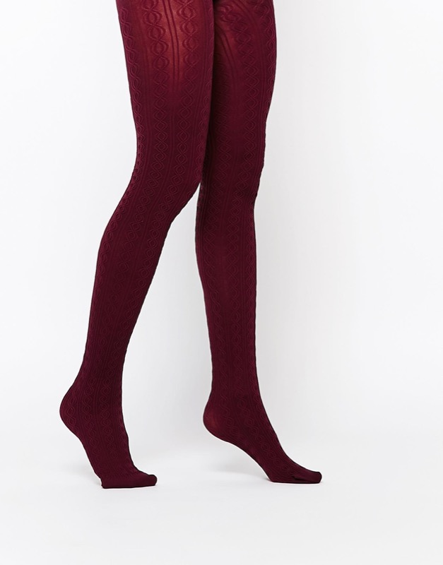 ClioMakeUp-collant-calze-pile-calde-lana-colorate-fantasia-come-lana-tricottage-trecce-asos
