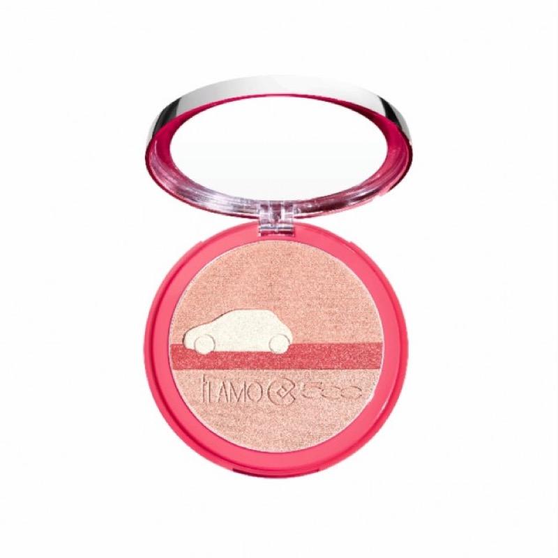 ClioMakeUp-collezioni-primavera-novita-2016-beauty-makeup-trucco-collistar-ti-amo-500-fiat-Strobing-Look