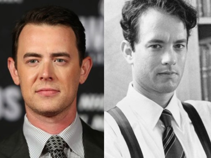ClioMakeUp-figli-star-celebrity-uguali-simili-collin-tom-hanks