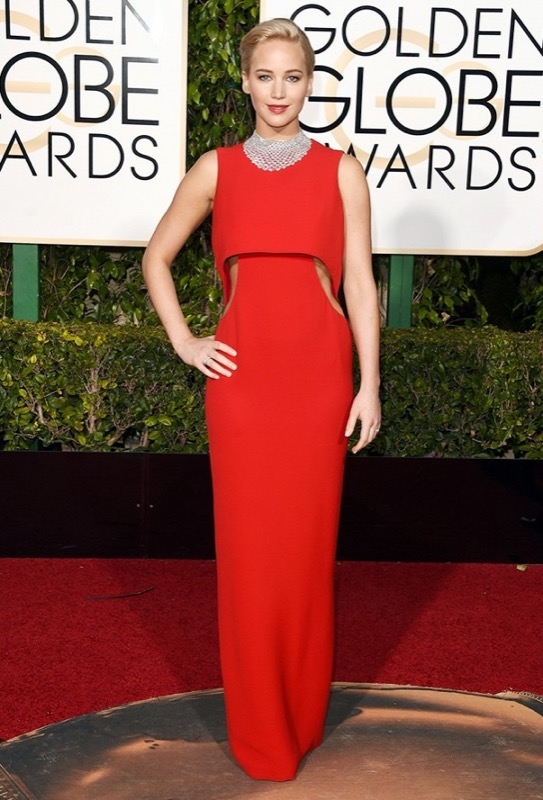 ClioMakeUp-golden-globes-star-red-carpet-beauty-look-jennifer-lawrence-dior