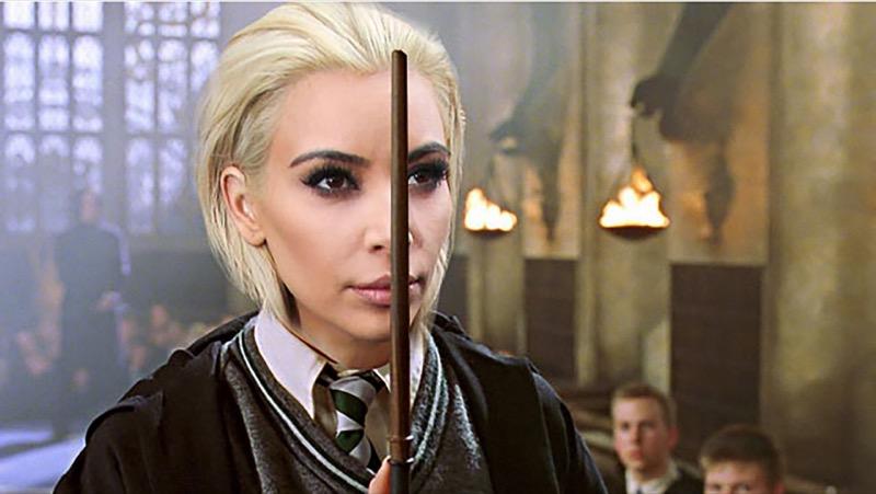 ClioMakeUp-meglio-truccata-miglior-look-makeover-top-anno-2015-star-kim-kardashian-bionda-draco