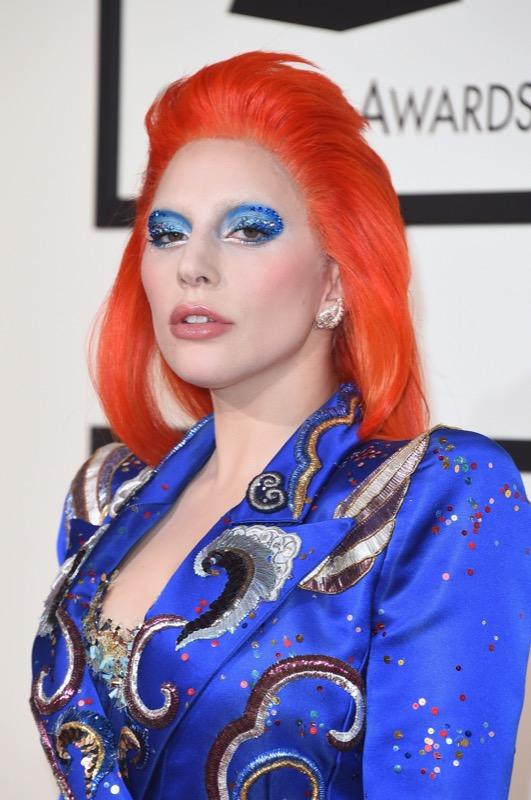 ClioMakeUp-Grammys-Red-Carpet-star-capelli-Makeup-trucco-2016-Lady-Gaga