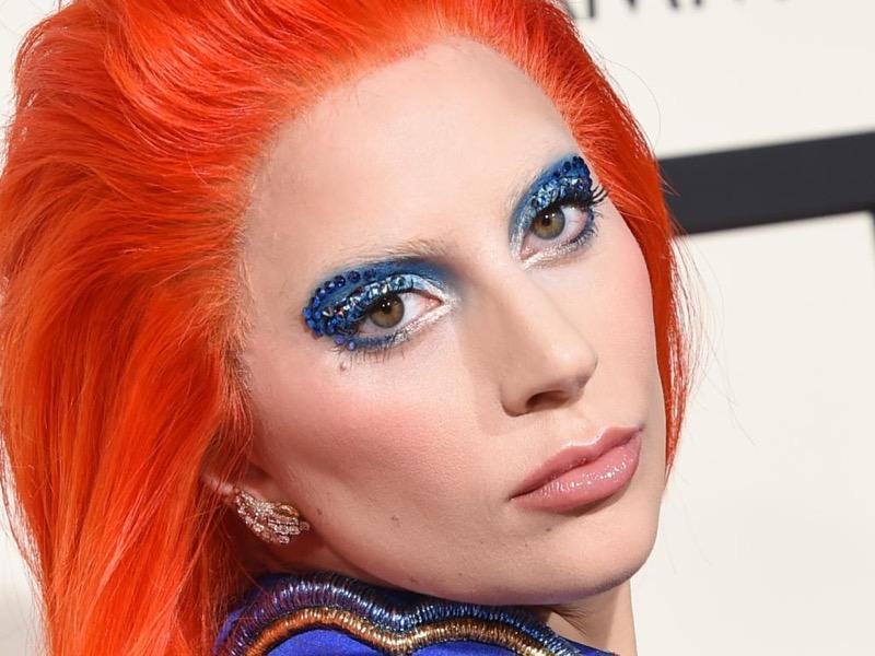ClioMakeUp-Grammys-Red-Carpet-star-capelli-Makeup-trucco-2016-lady-gaga-david-bowie