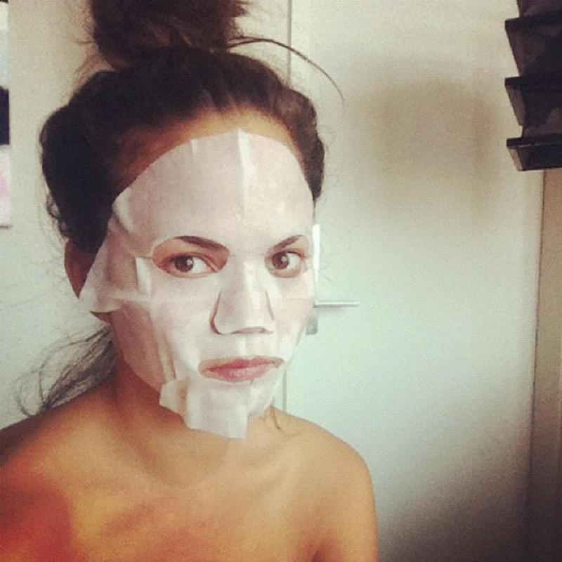 maschera per pelli secche