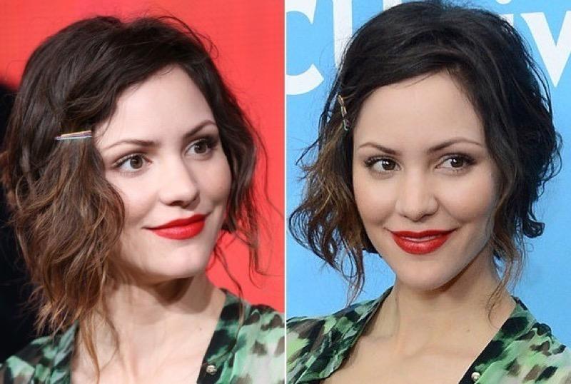 ClioMakeUp-acconciature-facili-veloci-capelli-corti-lunghi-medi-bobby-pin-forcine-colorate-Katharine-McPhee