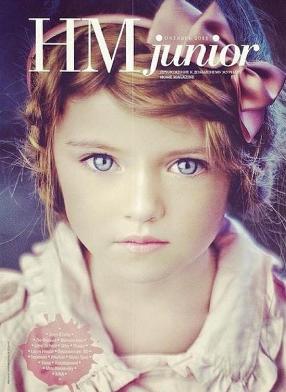 ClioMakeUp-modelle-bambina-più-bella-mondo-scandalo-Kristina-pimenova-hm