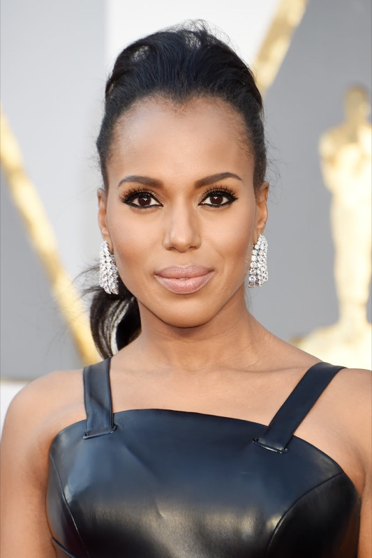 ClioMakeUp-oscar-2016-look-trucco-make-up-abiti-vestiti-capelli-Kerry-Washington-beauty
