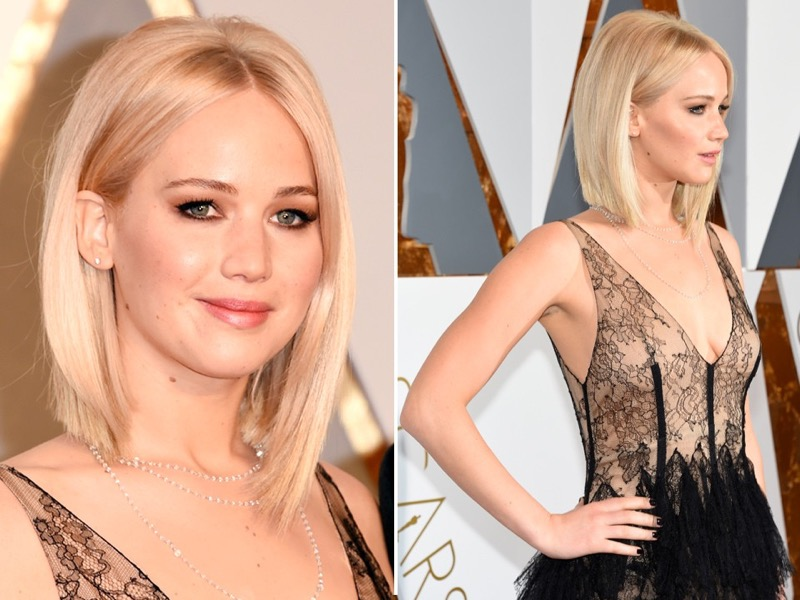 ClioMakeUp-oscar-2016-look-trucco-make-up-abiti-vestiti-capelli-jennifer-lawrence-beauty