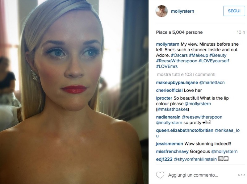 ClioMakeUp-oscar-2016-look-trucco-make-up-abiti-vestiti-capelli-reese-witherspoon-oscar-de-la-renta-beauty-look