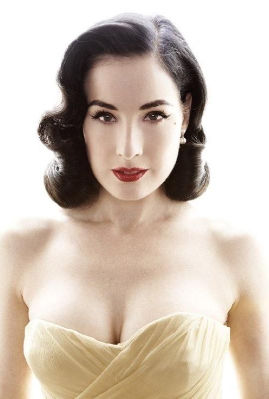 Top Trucco anni '50 oggi capelli, vestiti make-up da Marilyn pin-up SW99