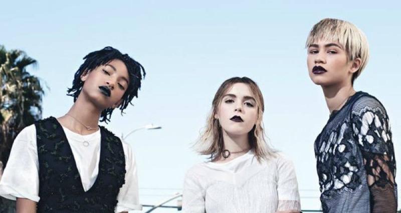 ClioMakeUp-nuova-era-icone-giovani-under-20-teenager-stile-moda-makeup-zendaya-willow-smith-kiernan-shipka-w-magazine