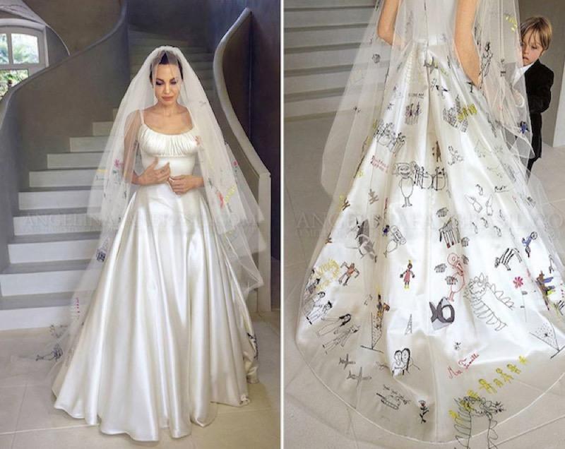 ClioMakeUp-spose-iconiche-famose-matrimonio-vestito-look-angelina-jolie-abito_