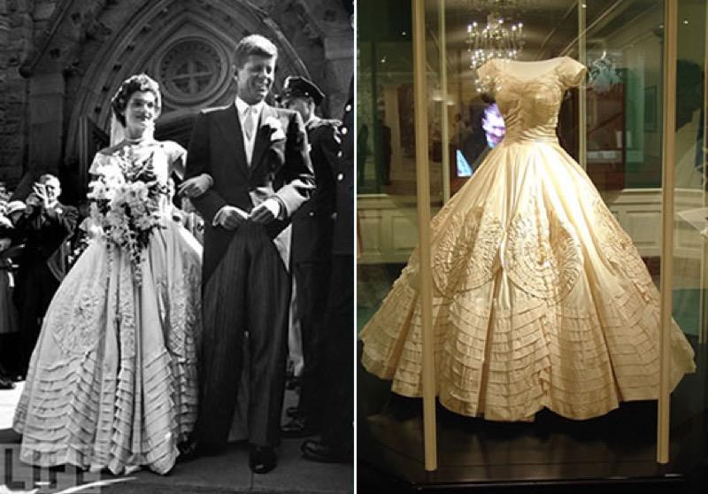 ClioMakeUp-spose-iconiche-famose-matrimonio-vestito-look-jackie-kennedy-Ann-Lowe
