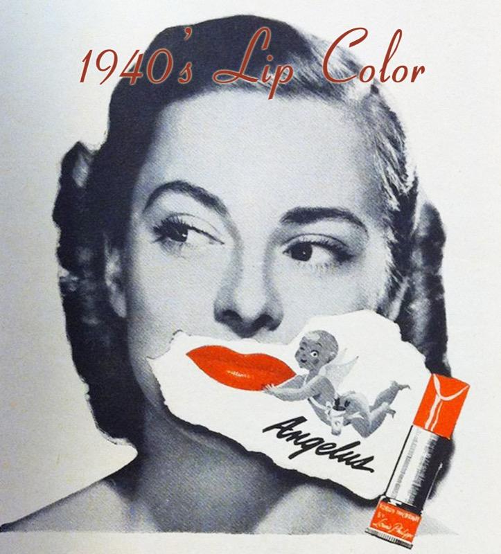 ClioMakeUp-trucco-anni-40-victory-rolls-rossetto-TIGHTLINING-vintage-retro-forma-labbra-glamourdaze
