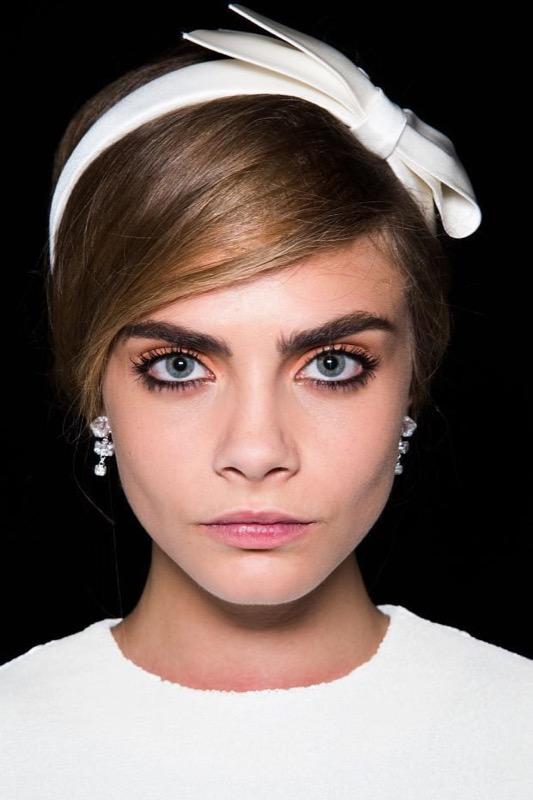 Molto Trucco anni '60: capelli voluminosi, occhi ingranditi labbra pop! HB69