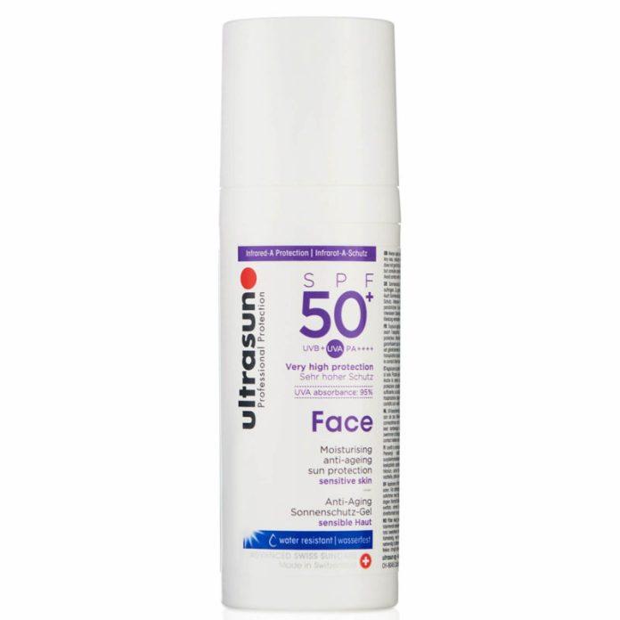 regali festa della mamma 2019 - Ultrasun Face Anti-Ageing Lotion SPF 50+ 50ml