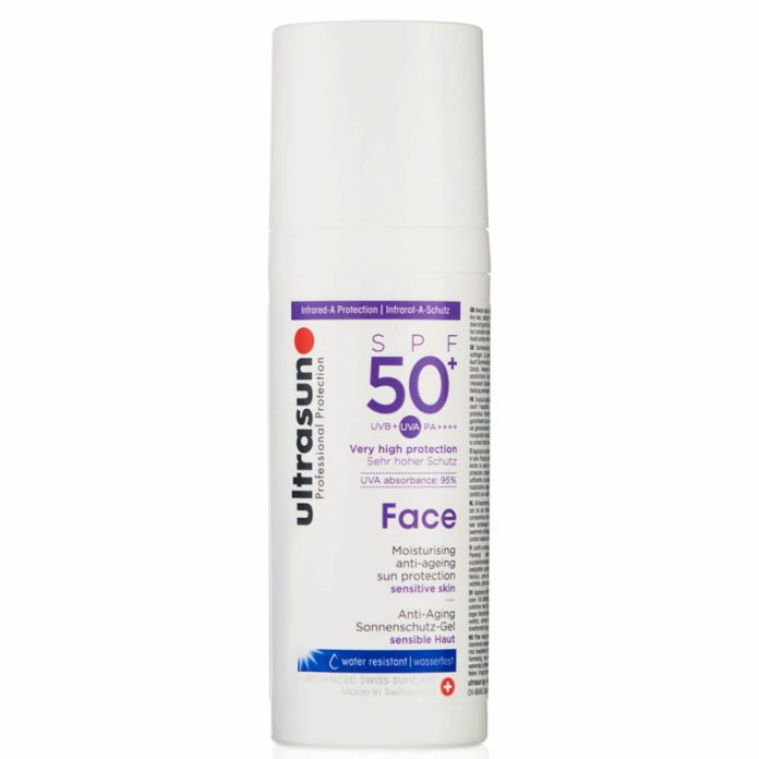 regali festa della mamma 2019 - Ultrasun Face Anti-Ageing Lotion SPF 50+ 50ml