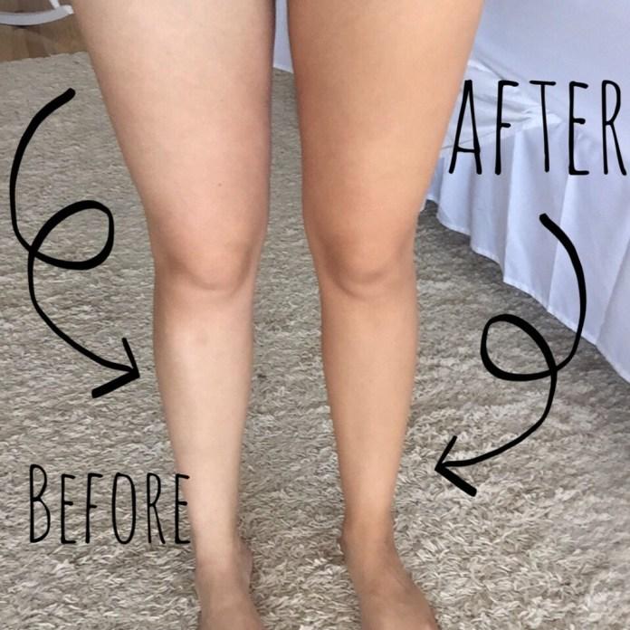 Cliomakeup-fondotinta-gambe-estate-2019-5-applicazione-prima-dopo