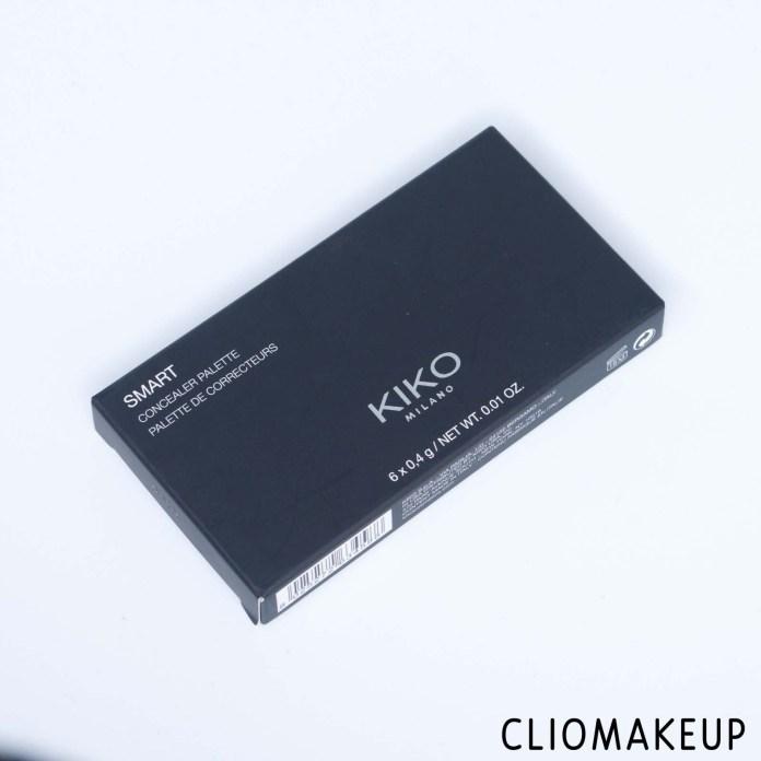 cliomakeup-recensione-palette-correttori-kiko-smart-concealer-palette-2