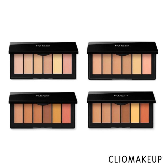 cliomakeup-recensione-palette-correttori-kiko-smart-concealer-palette-3