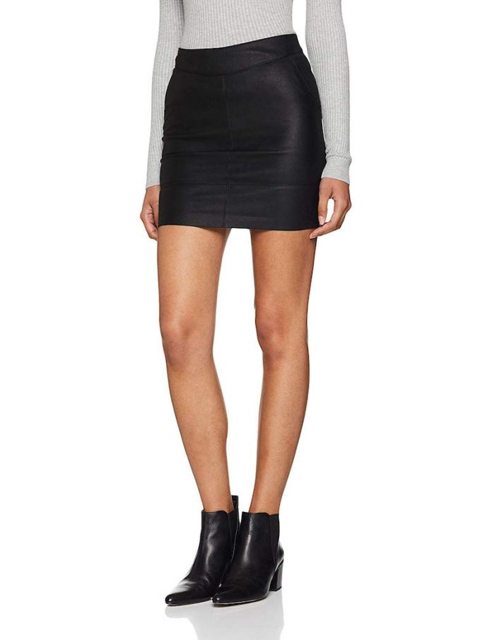 ClioMakeUp-gonne-corte-autunno-2019-8-only-nos-faux-leather-skirt-amazon.jpg