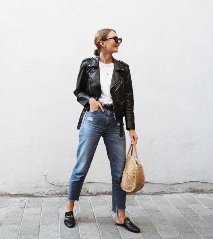 ClioMakeUp-look-universita-9-jeans-giacca-pelle