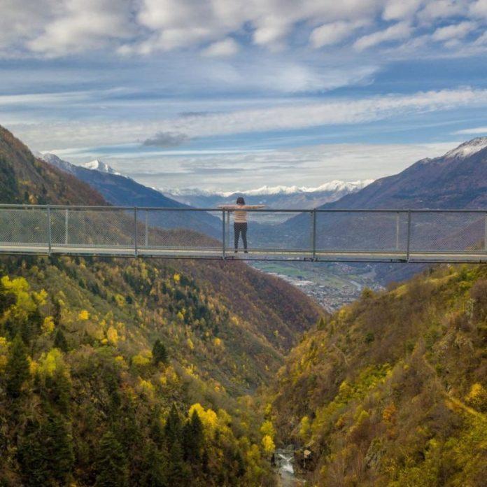ponte dei morti 2019: il ponte tibetano in valtellina
