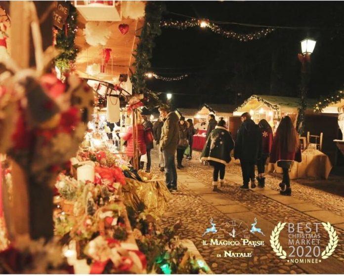 Il magico paese di Natale di Govone è l'unico tra i mercatini di Natale italiani ad essere candidato ai Best Christmas Market 2020