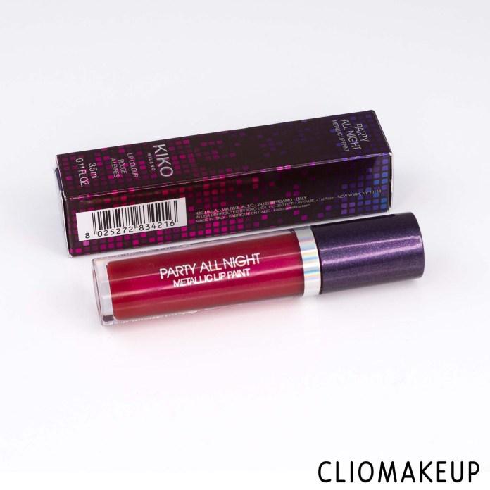 cliomakeup-recensione-rossetto-liquido-kiko-party-all-night-metallic-lip-paint-2