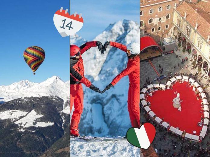 Viaggi San Valentino 2020: 9 mete per viaggi originali e romantici in Italia