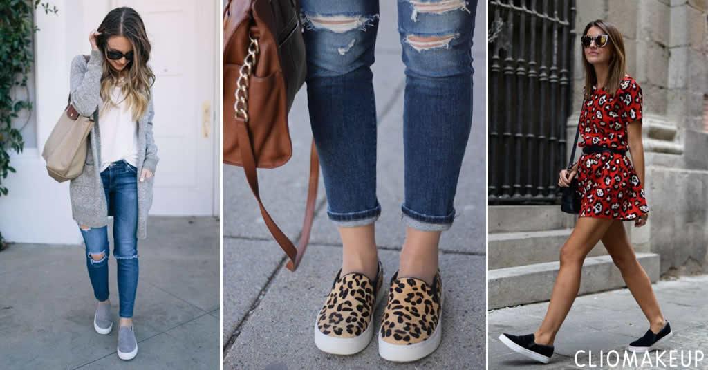 Slip on donna: le più belle scarpe da comprare online