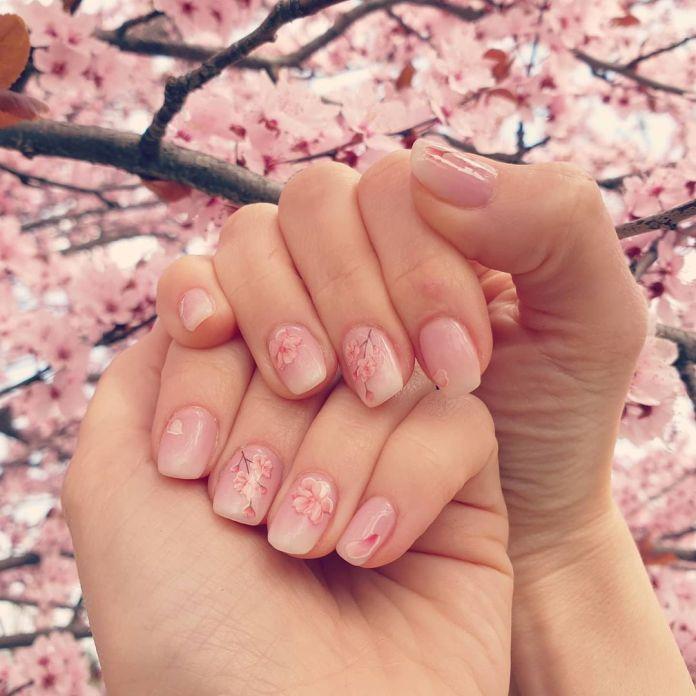 Cliomakeup-unghie-pink-sakura-fiori-ciliegio