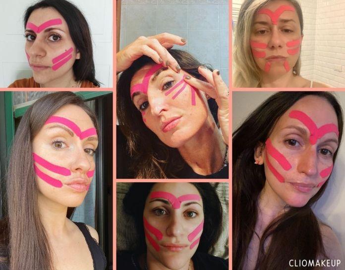 Cliomakeup-face-taping-team-clio