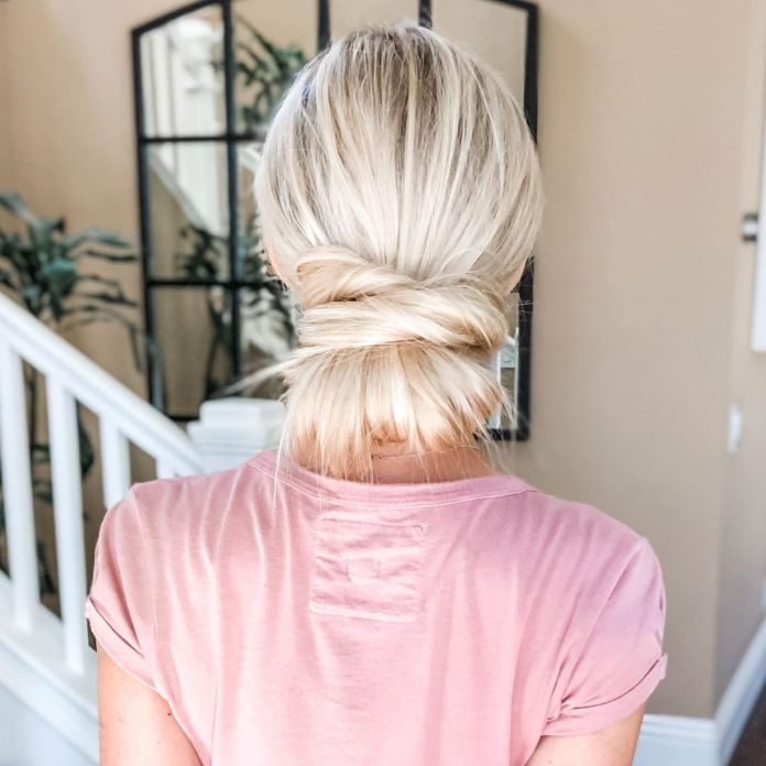 Climakeup-cord-knot-bun-capelli-lisci