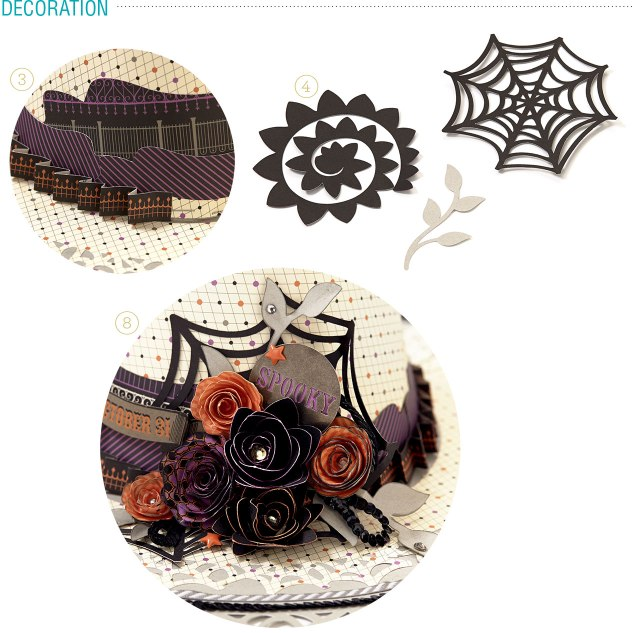 witches hat steps decoration