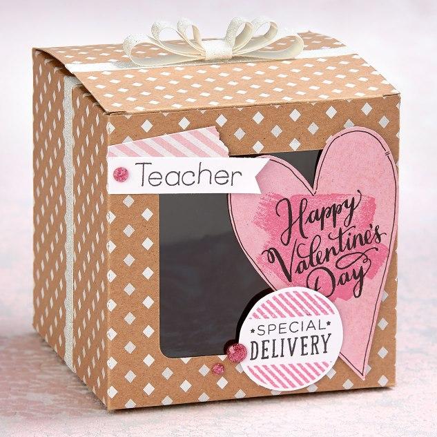 Valentine Teacher Box