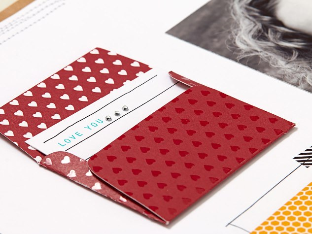 Love You mini envelope