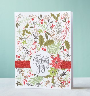 Get ahead on Christmas cards! #CTMH #closetomyheart #ctmhcutabove #christmascards