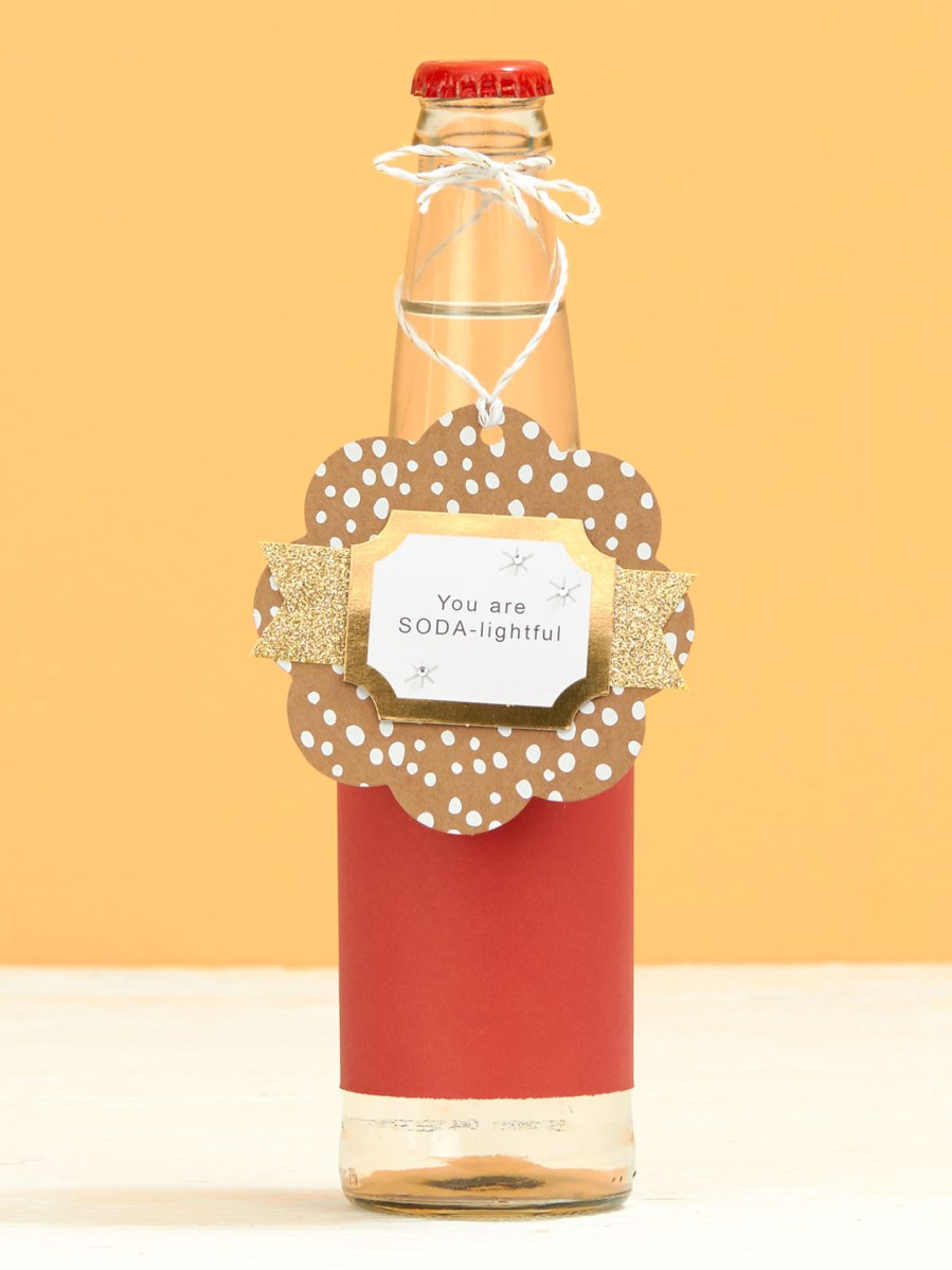 Christmas gift tag #closetomyheart #ctmh #Christmastag #diy