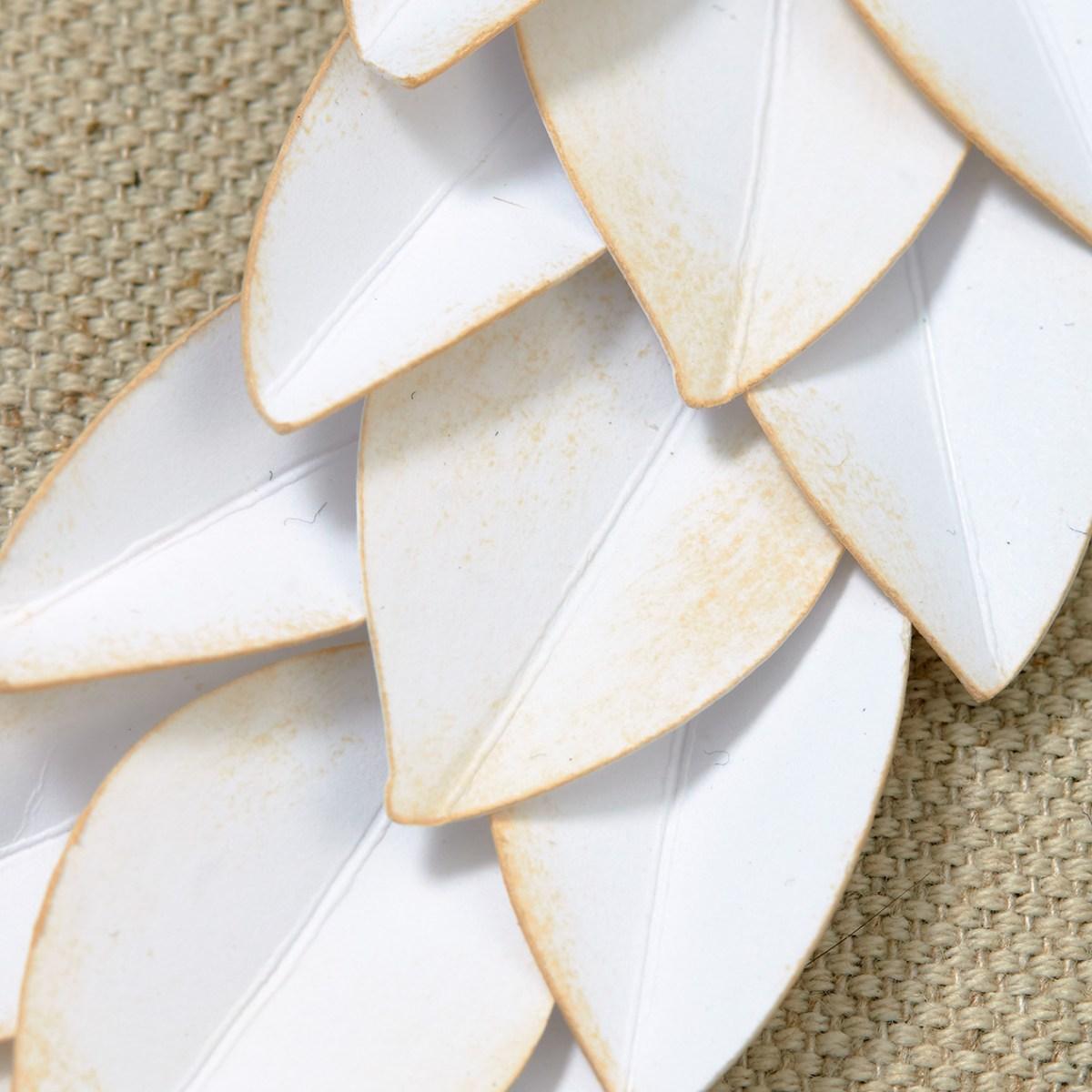 Wreath Up Close #ctmh #closetomyheart #wreath #monogrammedwreath #monogramwreath #monogram #neutral #antiqued #modernantique #shabbychic #distressed #distressingtechnique #diy