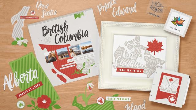 Celebrate Canada #CTHM #Closetomyheart #canada150 #canada #canadian #mapleleaf #icehockey #pondhockey #cricut #scrapbooking #scrapping #scrapbook