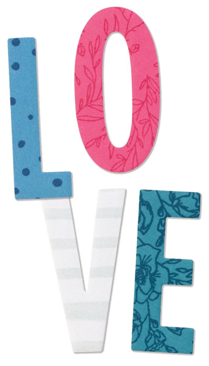 Thin Cuts - Block Alphabet #ctmh #closetomyheart #thincut #diecut #cuttlebug #alpha #alphabet #blockalphabet #blockalpha #font
